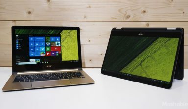 Acer unveils two new Windows 10 laptops that out-thin the MacBook