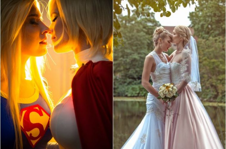 These Two Female Cosplayers Got Married In a Real-Life Dream Ceremony