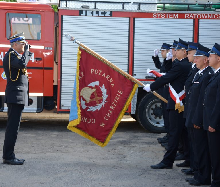 Strażacy z Charzyna działają już w Krajowym Systemie Ratowniczo – Gaśniczym